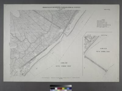 Sheet Nos. 57 & 64. [Sheet 57. Covers Midland Beach from Sea View Avenue to Poppy Joe Island. - Sheet No. 64. Includes part of Midland Beach and Lower New York bay.]