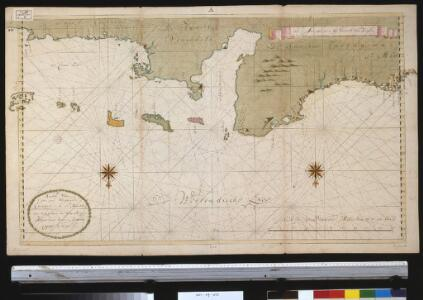 De kusten van Caraques, Venezuela, Cartagena en St. Martha van Caap Caldera tot Caep Auga