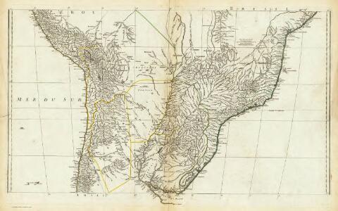 (Amerique Meridionale. Central section)