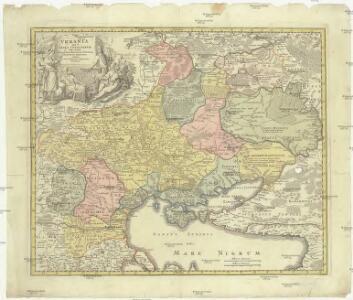 Vkrania quae et terra Cosaccorvm cum vicinis Walachiae, Moldaviae, minoris. Tartariae provinciis