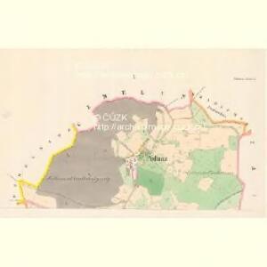 Podhurz - c5894-1-001 - Kaiserpflichtexemplar der Landkarten des stabilen Katasters