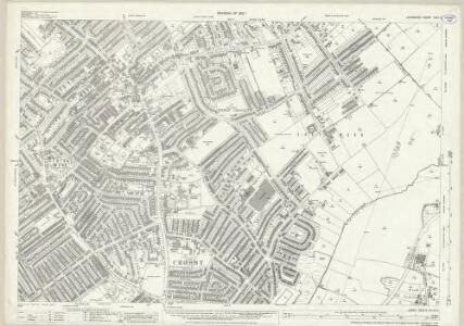 Lancashire XCIX.5 (includes: Ford; Great Crosby; Litherland; Sefton; Thornton; Waterloo) - 25 Inch Map