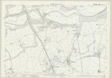 Shropshire V.14 (includes: Chirk; St Martins; Weston Rhyn; Whittington) - 25 Inch Map