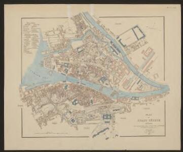 Plan der Stadt Zürich nach Breitinger