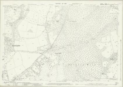 Surrey X.3 (includes: Egham; Sunningdale) - 25 Inch Map