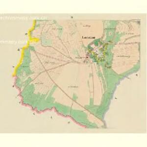 Lautschim (Laučim) - c4238-1-003 - Kaiserpflichtexemplar der Landkarten des stabilen Katasters