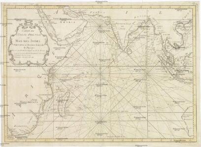 Carte de l'Ocean oriental ou Mer des Indes