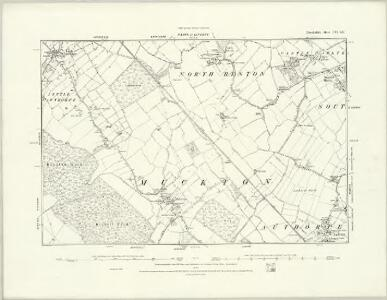 Lincolnshire LVI.SW - OS Six-Inch Map