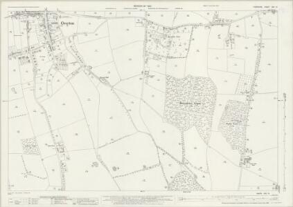 Hampshire and Isle of Wight XVII.15 (includes: Overton) - 25 Inch Map