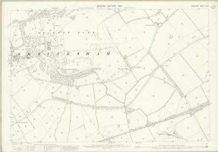 Berkshire XII.12 (includes: Ashbury; Compton Beauchamp; Longcott; Shrivenham; Watchfield) - 25 Inch Map