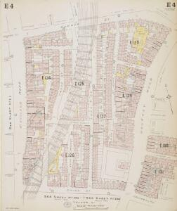Insurance Plan of London North & North-East District Vol. E: sheet 4