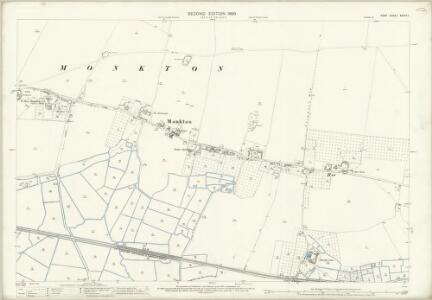 Kent XXXVII.1 (includes: Minster; Monkton) - 25 Inch Map