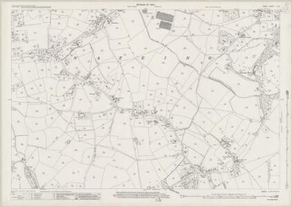 Essex (New Series 1913-) n LI.14 (includes: Nazeing; Waltham Holy Cross) - 25 Inch Map