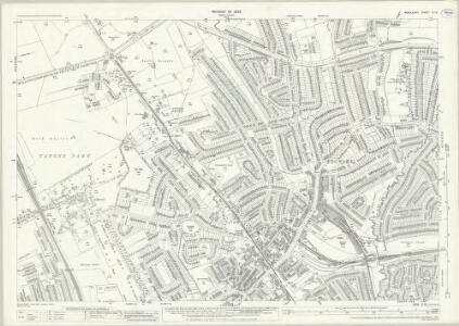 Middlesex VI.13 (includes: Harrow; Hendon) - 25 Inch Map