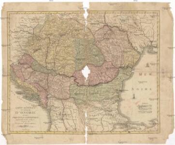 Carte générale du royaume d'Ongrie et des provinces limitrophes