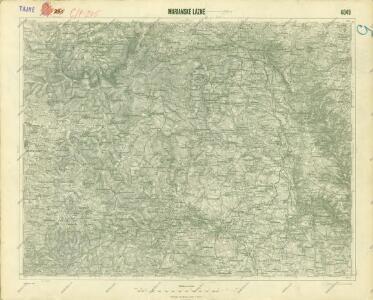 III. vojenské mapování 4049