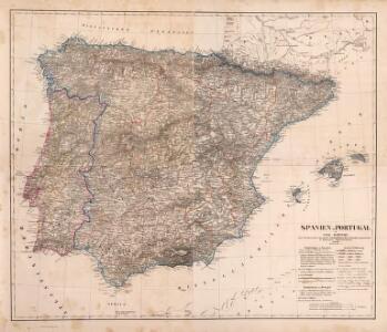 Composite: Spanien, Portugal.
