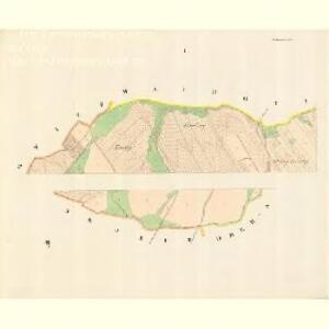 Wschechowitz - m3501-1-001 - Kaiserpflichtexemplar der Landkarten des stabilen Katasters