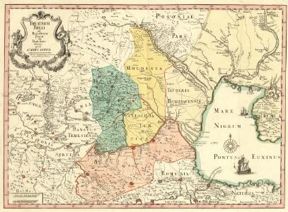 Theatrum Belli ad Borysthenem Tyram & Danubium Fluvios gesti Ao MDCC XXXVIII