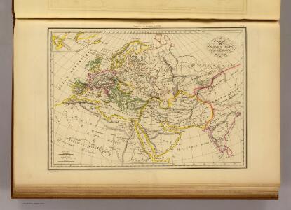 Geographie du Moyen Age.
