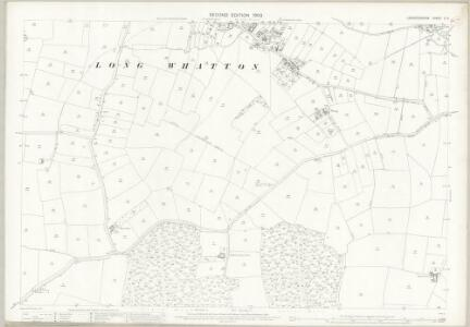 Leicestershire X.14 (includes: Long Whatton; Loughborough) - 25 Inch Map
