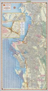 Shell Street Map of East Bay Cities.