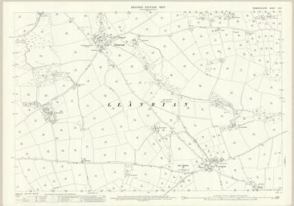 Pembrokeshire XV.2 (includes: Llanhywel; Llanrhian) - 25 Inch Map