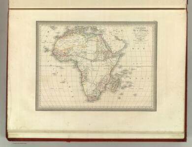 Carte Generale de l'Afrique.