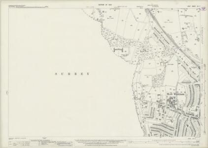 Kent XV.7 (includes: Beckenham; Croydon St John The Baptist) - 25 Inch Map