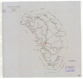 Mapa planimètric de Vinaixa