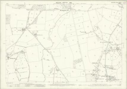 Berkshire XXXIX.1 (includes: Binfield; Bray; Warfield; White Waltham) - 25 Inch Map