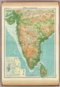 India - southern section.