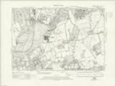 Surrey XIX.NE - OS Six-Inch Map