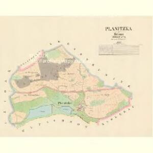 Planitzka - c5809-1-001 - Kaiserpflichtexemplar der Landkarten des stabilen Katasters