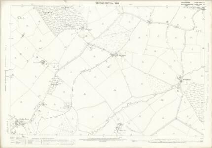 Oxfordshire XXVIII.15 (includes: Boarstall; Horton Cum Studley) - 25 Inch Map