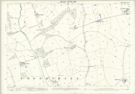 Essex (1st Ed/Rev 1862-96) XXVI.10 (includes: Coggeshall) - 25 Inch Map