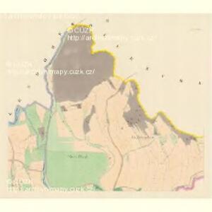 Lesnitz - m1497-1-002 - Kaiserpflichtexemplar der Landkarten des stabilen Katasters