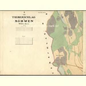 Tieberschlag - c4225-1-001 - Kaiserpflichtexemplar der Landkarten des stabilen Katasters