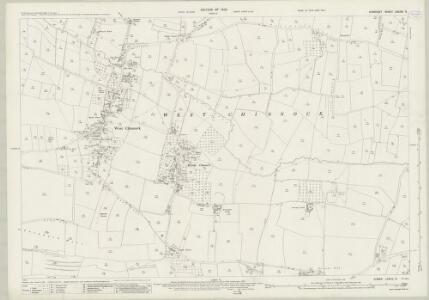 Somerset LXXXIX.6 (includes: Chiselborough; East Chinnock; Haslebury Plucknett; West Chinnock) - 25 Inch Map