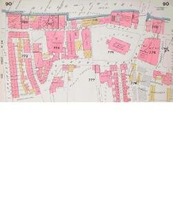 Insurance Plan of City of London Vol. IV: sheet 90-1