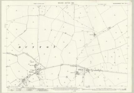 Buckinghamshire XXIII.4 (includes: Dunton; Stewkley) - 25 Inch Map