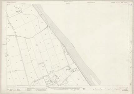 Yorkshire CCXLIII.14 (includes: Hollym; Holmpton) - 25 Inch Map