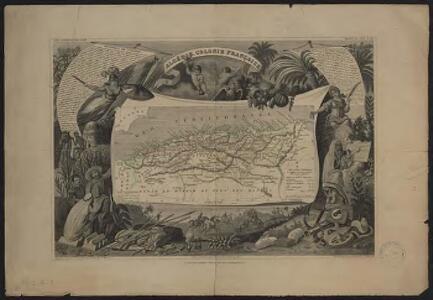 Algérie, colonie française. Région du sud