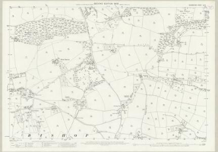 Devon LIV.4 (includes: Morchard Bishop; Woolfardisworthy) - 25 Inch Map
