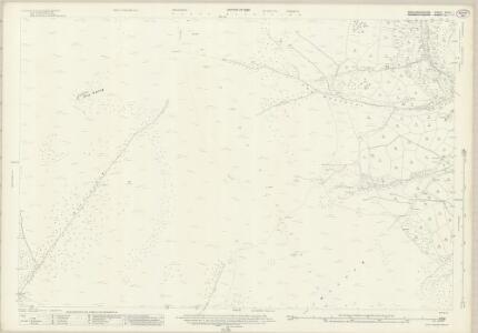 Brecknockshire XXXVI.1 (includes: Crucornau Fawr; Llanbedr Ystrad Yw; Llaneleu; Partrishow) - 25 Inch Map