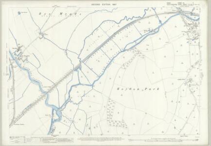 Essex (1st Ed/Rev 1862-96) XL.11 (includes: Hoddesdon; Roydon; Stanstead Abbots) - 25 Inch Map