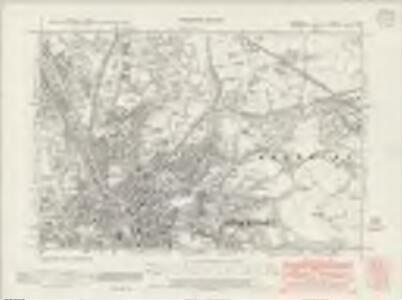 Cheshire X.SE - OS Six-Inch Map