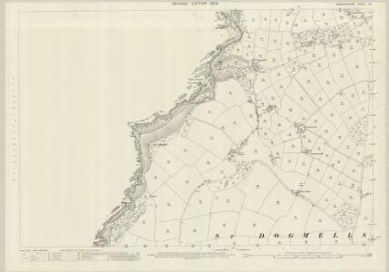 Pembrokeshire II.6 (includes: St Dogmaels) - 25 Inch Map