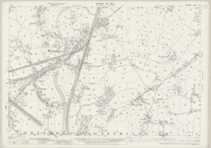 Cheshire XI.9 (includes: Bredbury and Romiley; Hyde) - 25 Inch Map