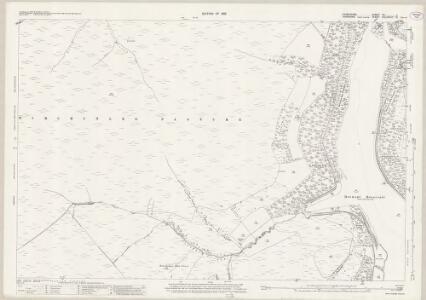 Derbyshire VII.1 (includes: Bradfield; Derwent; Hope Woodlands) - 25 Inch Map